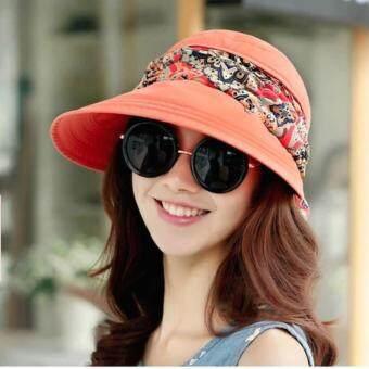 PGM หมวกกอล์ฟ สีส้มพีช (MZ015)(Int: One size)