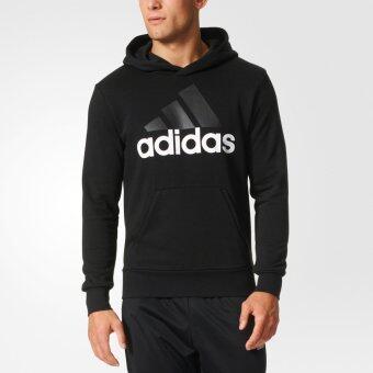ADIDAS เสื้อ แจ็คเก็ต อาดิดาส Pullover Hoodie ESS Lin FT S98772 BK(2290)