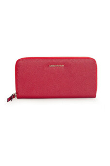 Harga Mango Saffiano Effect Zip Wallet Purse (Red)