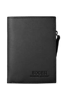 Matteo กระเป๋าเงิน กระเป๋าสตางค์ ผู้ชาย 3 ชั้น รุ่น BOGESI B0888 ( สีดำ )