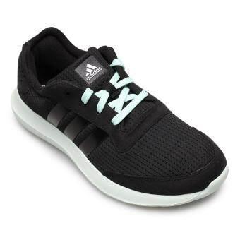 ADIDAS WOMEN รองเท้าผ้าใบ ผู้หญิง รุ่น ELEMENT REFRESH W - AQ2225 (CBLACK/CEMIN/FTWWHT)