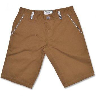 PIMNIYOM -T-SHIRTกางเกงขาสั้นรุ่น5650 (สีน้ำตาล)
