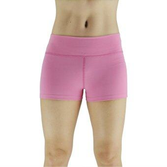 Harga Women Shorts Stretched Sports Yoga Running Gym Fitness Short Pants (Pink)