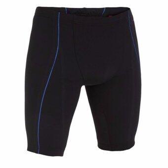 Audrey กางเกงว่ายน้ำแบบแจมเมอร์สำหรับผู้ชายรุ่น B-FATIGLESS (สีดำ/น้ำเงิน)