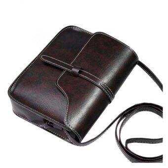กระเป๋าเงินหนัง Coconiey วินเทจข้ามไหล่กระเป๋ากาแฟร่างกายส่งจัดส่งฟรี