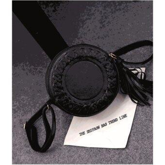 Moniga-Moniga กระเป๋าถือพร้อมสายสะพาย รุ่น Rolly สีดำ