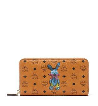 Harga MCM Rabbit Long Wallet MYL6AXL31CO