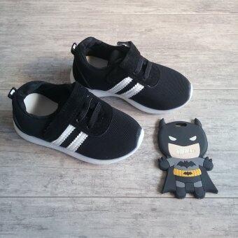 Alice Shoes รองเท้า แฟชั่นเด็กชาย&เด็กหญิง รุ่น SKL002-BK (ดำ)