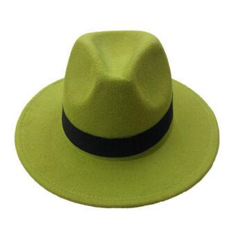 goodtimeshops หมวกปานามา london fedora (green)
