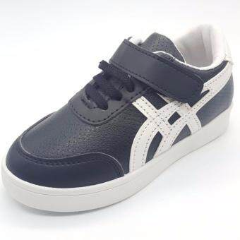 Alice Shoe รองเท้าผ้าใบ แฟชั่นเด็กผู้ชาย และ ผู้หญิง รุ่น SKL150-BK(สีดำ)