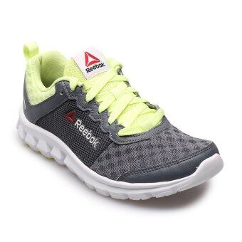 REEBOK WOMEN รองเท้าผ้าใบ ผู้หญิง รุ่น HEXAFFECT FIRE 2.0 0916 - 1-AR0289 (ALLOY/LEMON/WHITE)
