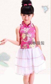 Friendly 4 Kid ชุดกระโปรง ชุดกี่เพ้า ชุดจีน เด็กผู้หญิง รุ่น G011