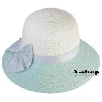 A-shop หมวกสาน หมวกแฟชั่น ผู้หญิง Hat0120-08