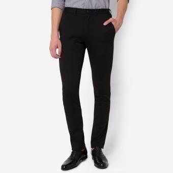 PRIMO LINEA กางเกงสแล็ค ผ้ายืด I-flex 4JM45L2014 (สีดำ)