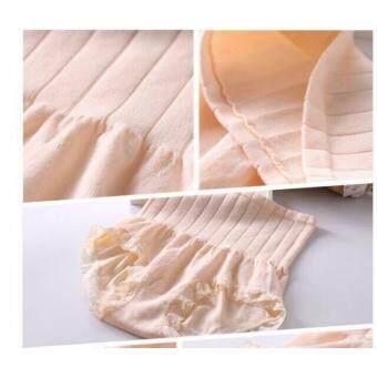 MUNAFIE กางเกงในเก็บพุง กางเกงในญี่ปุ่นกระชับสัดส่วน (สีครีม)