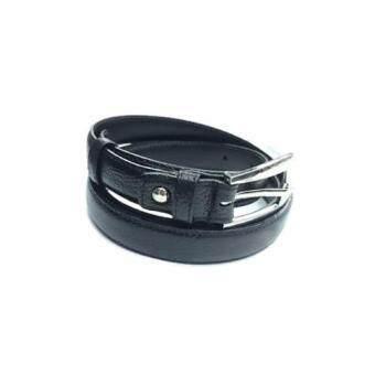 iruach leather เข็มขัดผู้หญิง หนังวัวแท้ L10002- Black