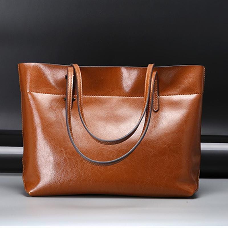 กระเป๋าถือ นักเรียน ผู้หญิง วัยรุ่น นครสวรรค์ Munoor Women กระเป๋าถือหนังวัวแท้ 100  แฟชั่นกระเป๋าถือกระเป๋าแฟชั่นลำลองไหล่กระเป๋าสีน้ำตาล