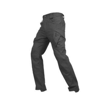 กางเกงขายาว กันน้ำ ระบายอากาศดี ใส่ท่องเที่ยว ขี่บิ๊กไบค์ ยิงปืน ปีนเขา หรือใส่ทำงานภาคสนาม พร้อมทุกสถาณการณ์ รุ่น ix9c (สีดำ)