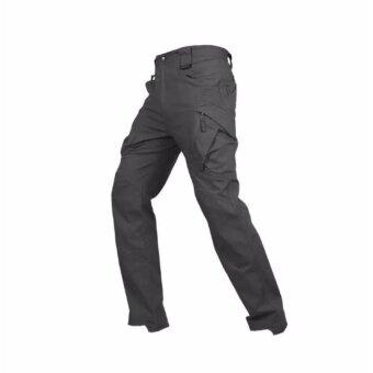 กางเกงขายาวกันน้ำ กางเกงใส่เดินป่า กิจกรรมผจญภัยทุกรูปแแบบ หรือใส่ทำงาน ใส่เที่ยวได้ทุกที่ รุ่น ix9c (สีดำ)