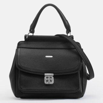 Jacob International กระเป๋าถือรุ่น V4312 (ดำ)