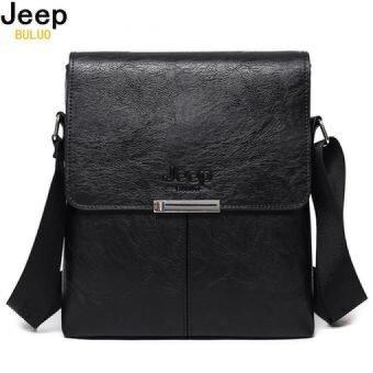JEEP BULUO Men Bag 2017 Fashion Mens Shoulder Bags High Quality Leather Casual Messenger Bag Business Men's Travel Bags 0718 - intl