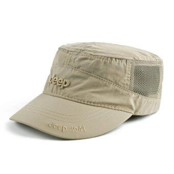 JEEP quick dry hat hat cap for men and women outdoor sunshadesports sun hat - intl