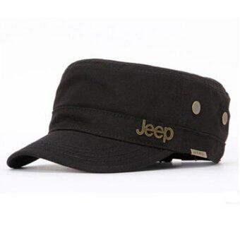 JEEP special offer counter genuine copper standard outdoor leisureUnisex Hat Cap - intl