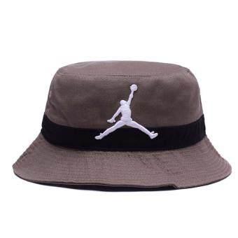 หมวกบักเก็ต Jordan เทา