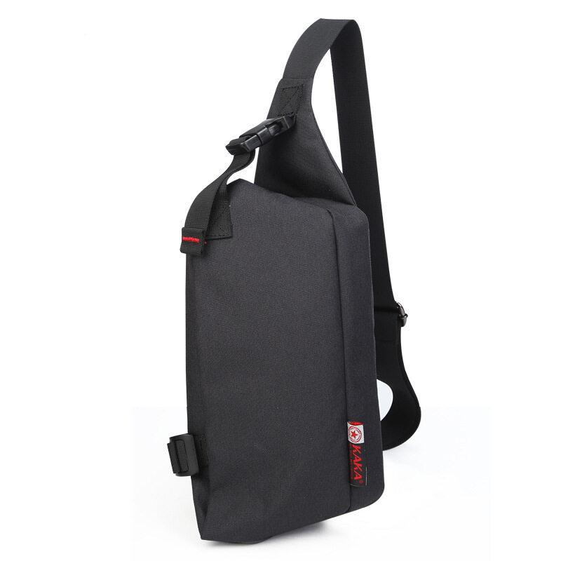 KAKA กระเป๋าคาดอก Korean Style รุ่น 99002 (สีส้ม)