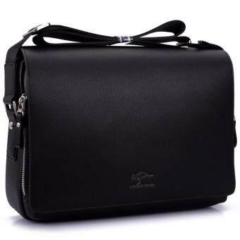 KANGAROO KINGDOM กระเป๋าสะพายข้าง Messenger Style รุ่น 4366 (สีดำ)