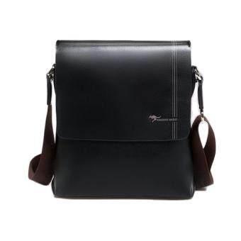 เสนอราคา KANGOEROE กระเป๋าสะพายข้าง Business Casual รุ่น BMA1658 (สีดำ)