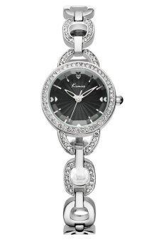 ซื้อ/ขาย Kimio นาฬิกาข้อมือผู้หญิง สายสแตนเลส รุ่น KW6019 - Silver/Black