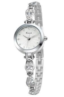 ราคา Kimio นาฬิกาข้อมือผู้หญิง สี Silver สายสแตนเลส รุ่น KW535