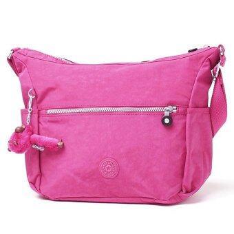 โปรโมชั่นพิเศษ Kipling กระเป๋าสะพายข้าง รุ่น Alenya Shoulder / Crossbody Bag - สี Vibrant Pink