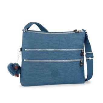 Kipling กระเป๋าสะพายข้าง Alvar Crossbody Bag - สี Jazzy Blue