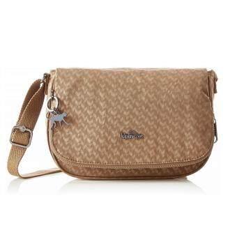 ลดราคา Kipling กระเป๋าสะพาย รุ่น Earthbeat S Crossbody Bag - สี Camel Emb
