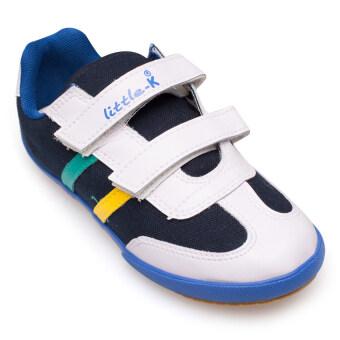 KITO รองเท้าผ้าใบเด็ก รุ่น S8615 (กรม)