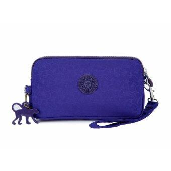 Harga Klpllng Fashion Women's Canvas Wallet(violet) - intl