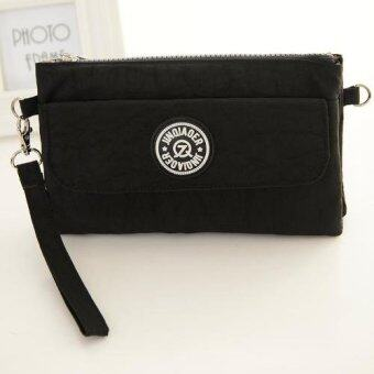 ประกาศขาย Korea กระเป๋าถือ-สะพายผ้ากันน้ำใบเล็ก รุ่น G017-1(สีดำ)