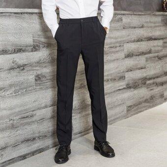 Korean man commerce trousers men's round thin business men's trousers pants straight legged trousers DP - intl