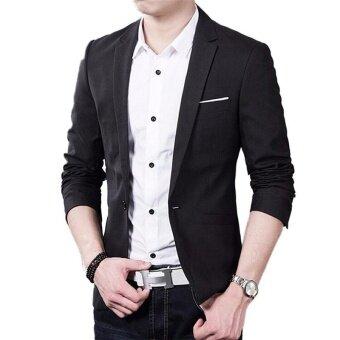 Korean Stylish!!! Autumn Clothes Men Suit Jacket Casaco Terno Masculino Blazer Cardigan Jaqueta Wedding Suits Jackets - intl