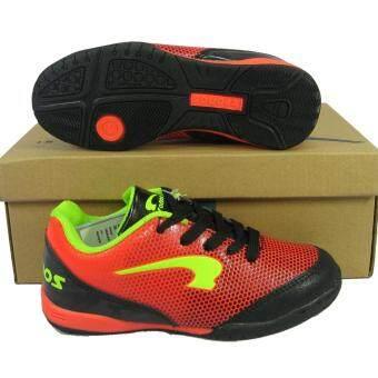 ประเทศไทย รองเท้ากีฬา รองเท้าฟุตซอลเด็ก Kronos KFWJ-6026 ดำส้ม