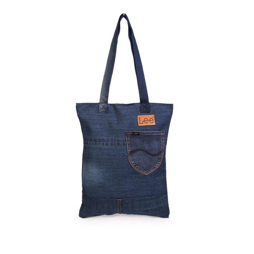 ขายดี กระเป๋าผ้ายีนส์ รุ่น LE 16801105 สี Indigo รีวิว