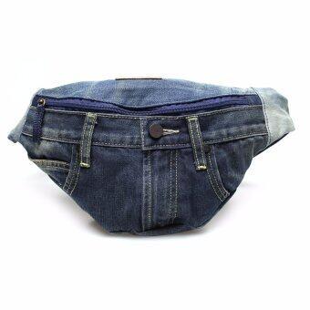 โปรโมชั่นพิเศษ กระเป๋าผ้ายีนส์ รุ่น LE 16801106 สี Indigo