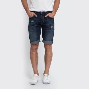กางเกงยีนส์ขาสั้น รุ่น LE 17011003 สี INDIG0