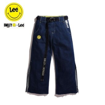 Lee x Smiley กางเกงยีนส์ รุ่น LE L293272V สี INDIG0