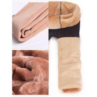 Legging For Winter เลกกิิ้งลองจอนสำหรับอากาศติดลบ เซ็ตสองสี ดำซีทรูและ สีนู๊ด