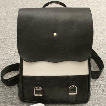 ประกาศขาย กระเป๋าสะพายหลัง รุ่น LP-013 (สีดำ-ขาว)