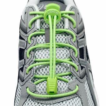 Lock laces เชือกรองเท้าไม่ต้องผูก สีเขียว