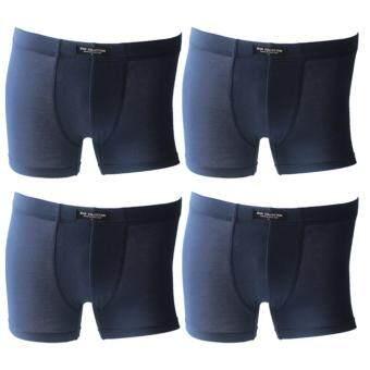 MAN COLLECTION กางเกงชั้นในชายแบบเต็มตัว 4 ตัว/แพ็ค ( สี กรมท่า)